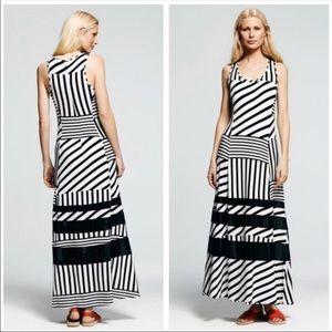 Peter Som | Striped Maxi Dress